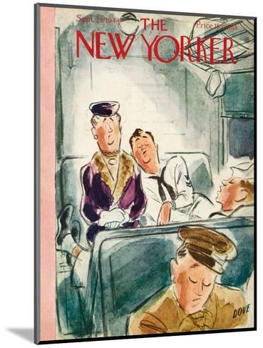 The New Yorker Cover - September 23, 1944-Leonard Dove-Mounted Premium Giclee Print
