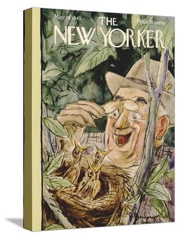 The New Yorker Cover - May 19, 1945-Perry Barlow-Stretched Canvas Print