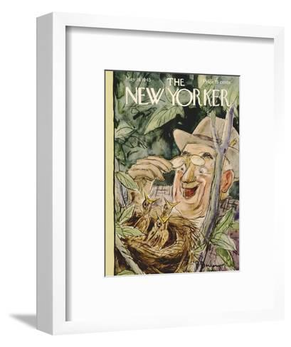 The New Yorker Cover - May 19, 1945-Perry Barlow-Framed Art Print