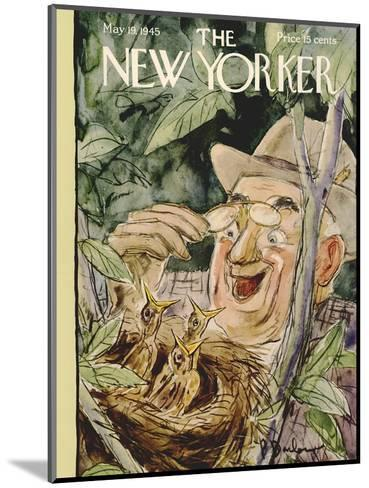 The New Yorker Cover - May 19, 1945-Perry Barlow-Mounted Premium Giclee Print