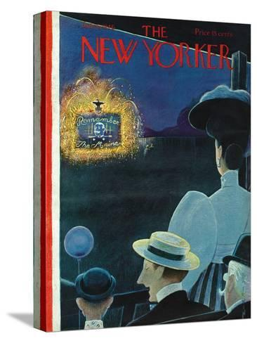 The New Yorker Cover - July 6, 1946-Rea Irvin-Stretched Canvas Print