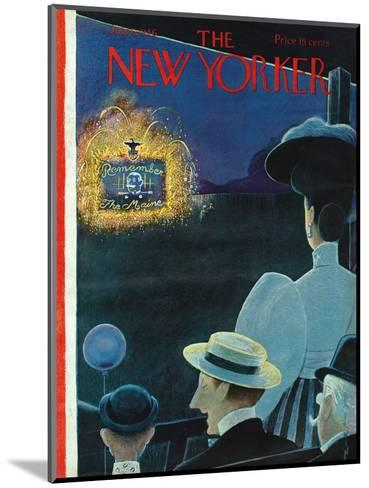 The New Yorker Cover - July 6, 1946-Rea Irvin-Mounted Premium Giclee Print