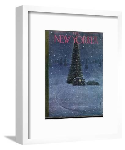 The New Yorker Cover - December 27, 1947-Garrett Price-Framed Art Print