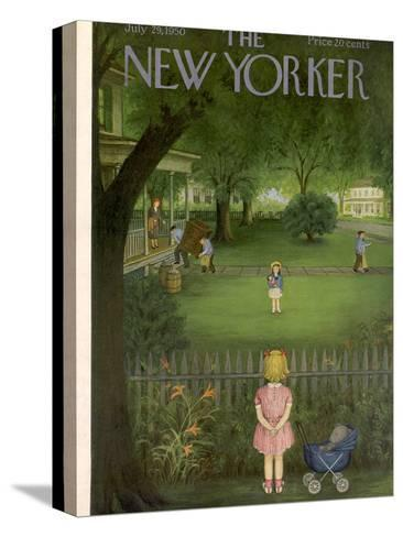 The New Yorker Cover - July 29, 1950-Edna Eicke-Stretched Canvas Print