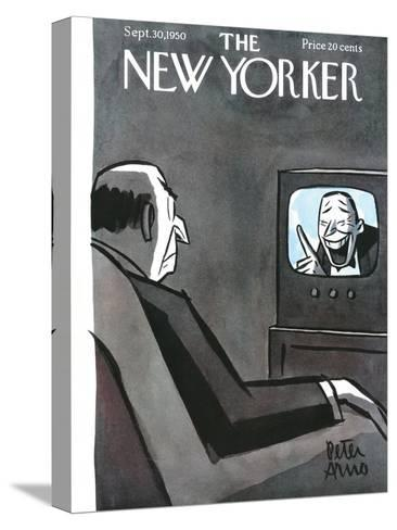 The New Yorker Cover - September 30, 1950-Peter Arno-Stretched Canvas Print