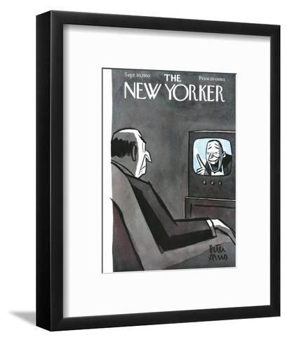The New Yorker Cover - September 30, 1950-Peter Arno-Framed Art Print