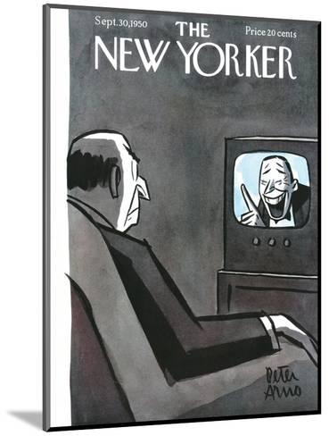 The New Yorker Cover - September 30, 1950-Peter Arno-Mounted Premium Giclee Print