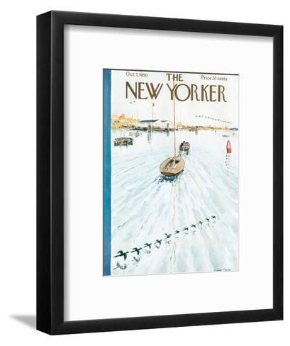 The New Yorker Cover - October 7, 1950-Garrett Price-Framed Art Print