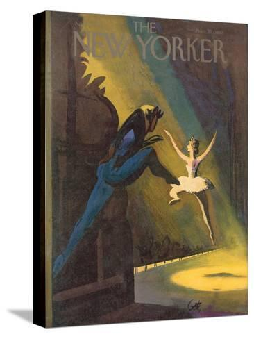 The New Yorker Cover - November 3, 1951-Arthur Getz-Stretched Canvas Print
