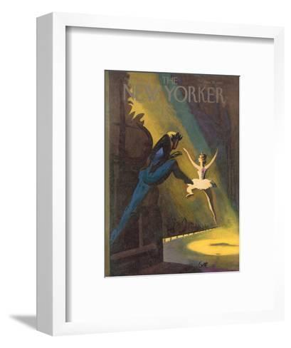 The New Yorker Cover - November 3, 1951-Arthur Getz-Framed Art Print