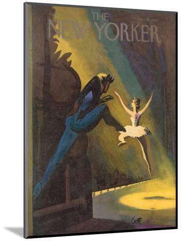 The New Yorker Cover - November 3, 1951-Arthur Getz-Mounted Premium Giclee Print