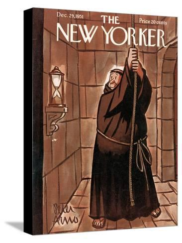 The New Yorker Cover - December 29, 1951-Peter Arno-Stretched Canvas Print