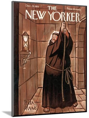The New Yorker Cover - December 29, 1951-Peter Arno-Mounted Premium Giclee Print