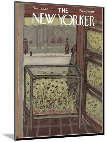 The New Yorker Cover - November 15, 1952-Abe Birnbaum-Mounted Premium Giclee Print