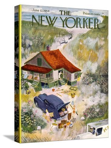The New Yorker Cover - June 12, 1954-Roger Duvoisin-Stretched Canvas Print