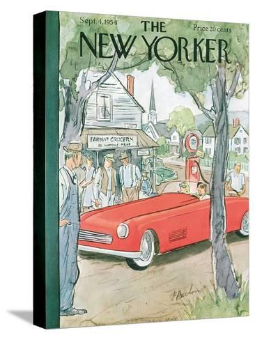 The New Yorker Cover - September 4, 1954-Perry Barlow-Stretched Canvas Print