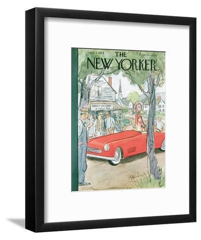 The New Yorker Cover - September 4, 1954-Perry Barlow-Framed Art Print