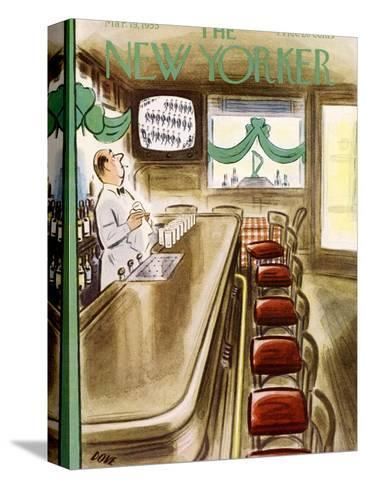 The New Yorker Cover - March 19, 1955-Leonard Dove-Stretched Canvas Print