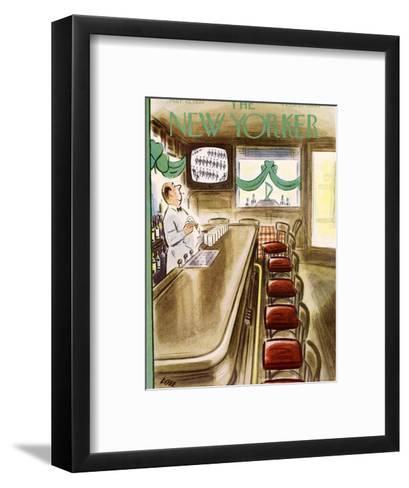 The New Yorker Cover - March 19, 1955-Leonard Dove-Framed Art Print