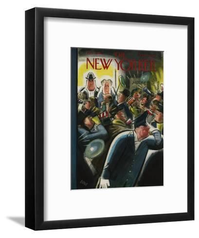 The New Yorker Cover - December 31, 1955-Leonard Dove-Framed Art Print