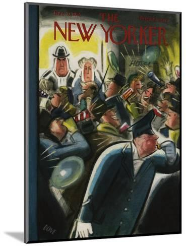 The New Yorker Cover - December 31, 1955-Leonard Dove-Mounted Premium Giclee Print