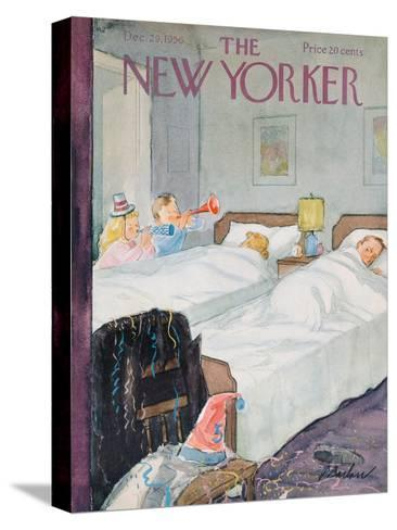 The New Yorker Cover - December 29, 1956-Perry Barlow-Stretched Canvas Print