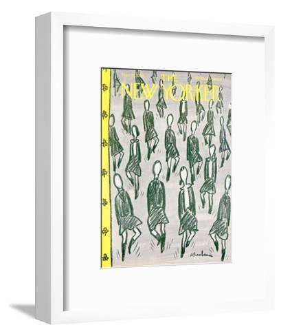 The New Yorker Cover - March 15, 1958-Abe Birnbaum-Framed Art Print