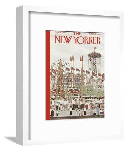 The New Yorker Cover - September 6, 1958-Vestie E. Davis-Framed Art Print