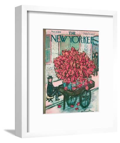 The New Yorker Cover - November 8, 1958-Abe Birnbaum-Framed Art Print
