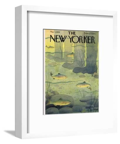 The New Yorker Cover - May 2, 1959 Premium Giclee Print by Charles E ...
