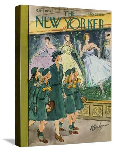 The New Yorker Cover - May 9, 1959-Perry Barlow-Stretched Canvas Print
