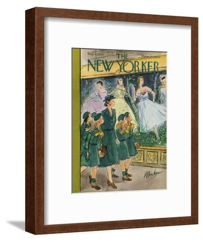 The New Yorker Cover - May 9, 1959-Perry Barlow-Framed Art Print