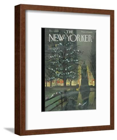 The New Yorker Cover - December 5, 1959-Arthur Getz-Framed Art Print