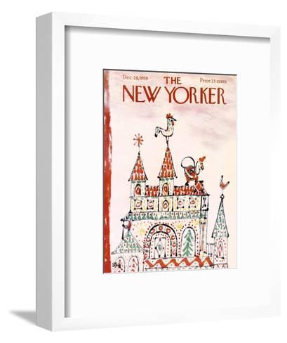 The New Yorker Cover - December 26, 1959-William Steig-Framed Art Print