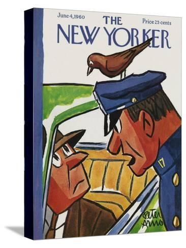 The New Yorker Cover - June 4, 1960-Peter Arno-Stretched Canvas Print