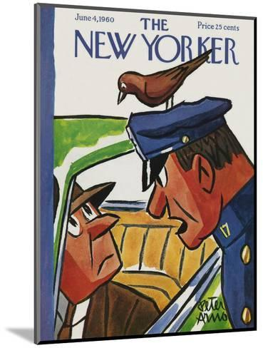 The New Yorker Cover - June 4, 1960-Peter Arno-Mounted Premium Giclee Print