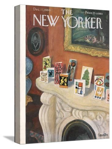 The New Yorker Cover - December 17, 1960-Beatrice Szanton-Stretched Canvas Print