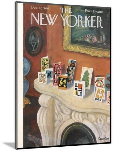 The New Yorker Cover - December 17, 1960-Beatrice Szanton-Mounted Premium Giclee Print