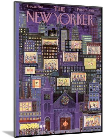 The New Yorker Cover - December 16, 1961-Ilonka Karasz-Mounted Premium Giclee Print