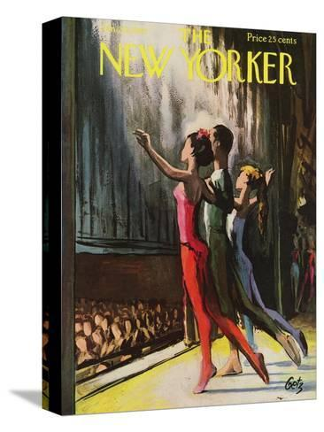 The New Yorker Cover - January 20, 1962-Arthur Getz-Stretched Canvas Print