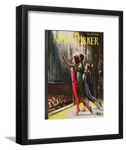 The New Yorker Cover - January 20, 1962-Arthur Getz-Framed Art Print
