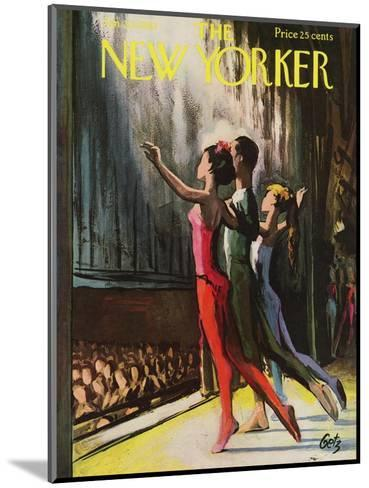 The New Yorker Cover - January 20, 1962-Arthur Getz-Mounted Premium Giclee Print
