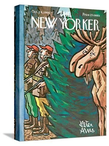 The New Yorker Cover - October 24, 1964-Peter Arno-Stretched Canvas Print