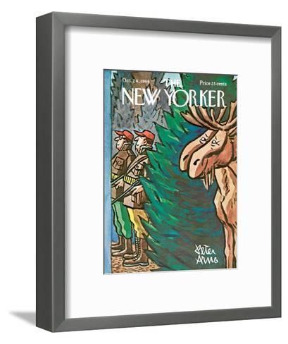 The New Yorker Cover - October 24, 1964-Peter Arno-Framed Art Print