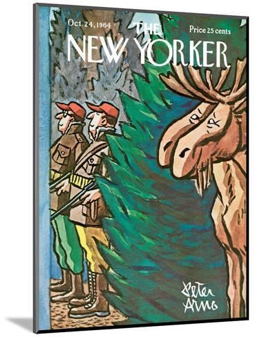 The New Yorker Cover - October 24, 1964-Peter Arno-Mounted Premium Giclee Print