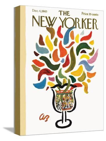 The New Yorker Cover - December 4, 1965-Abe Birnbaum-Stretched Canvas Print