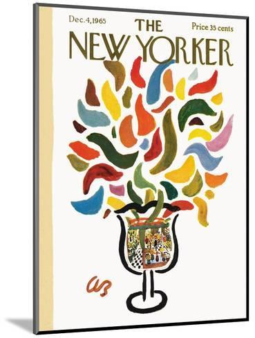 The New Yorker Cover - December 4, 1965-Abe Birnbaum-Mounted Premium Giclee Print