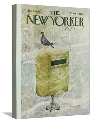 The New Yorker Cover - January 8, 1966-Laura Jean Allen-Stretched Canvas Print