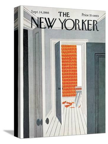 The New Yorker Cover - September 24, 1966-Charles E. Martin-Stretched Canvas Print