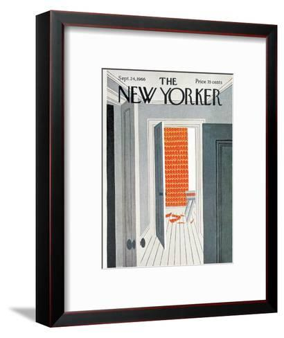 The New Yorker Cover - September 24, 1966-Charles E. Martin-Framed Art Print